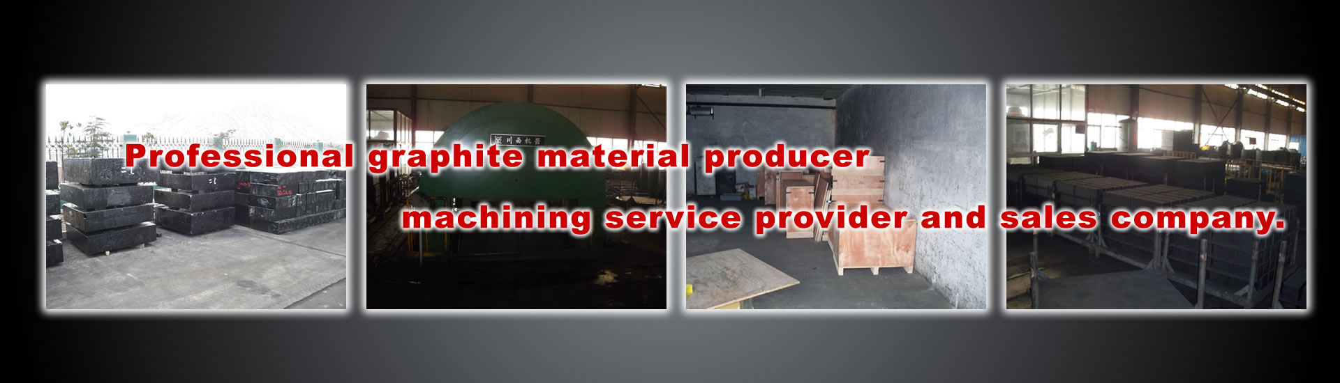 Professional graphite material producer, machining service provider and sales company.
